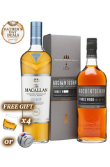 Single Malt Set - Macallan Quest x Aushentoshan w/ FREE Gift