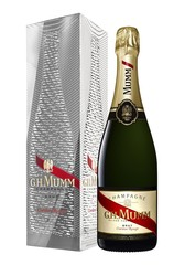 G. H. Mumm Cordon Rouge Moiré Effect w/Gift Box