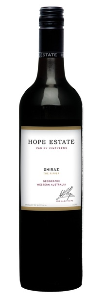 Hope Estate WA 'Ripper' Shiraz 2011 bottle