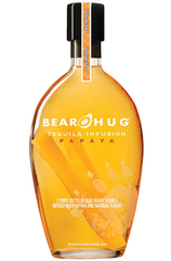 Bear Hug Tequila Infusions Papaya 1L