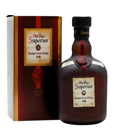 Old Parr Superior 750ml w/Gift Box