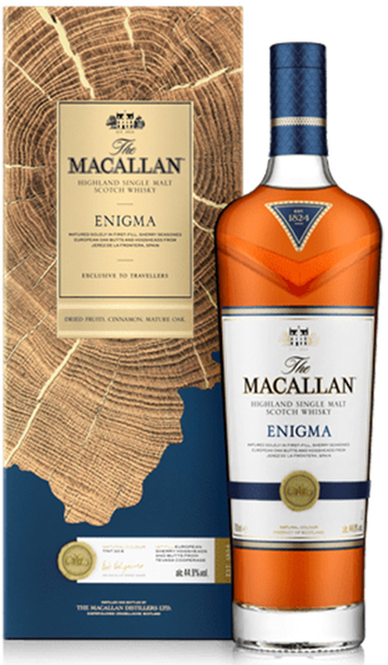 Macallan Enigma 700ml with Gift Box
