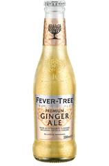x 24 Fever-Tree Ginger Ale Bottle Case 200ml