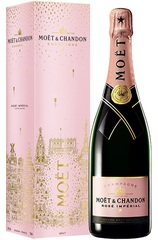 Moet & Chandon Rose Imperial EOY Festive 750ml w/Gift Box