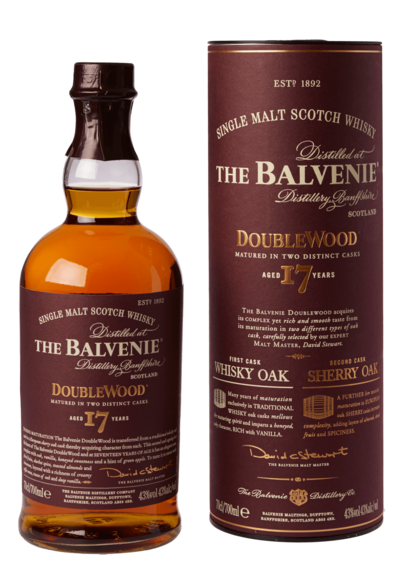 Balvenie 17 Year Double Wood w/Gift Box