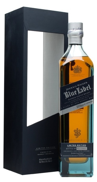 Johnnie Walker Blue Porsche Cask Edition w/Gift Box