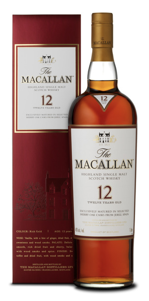 Macallan 12 Year Sherry Oak w/Gift Box 700ml