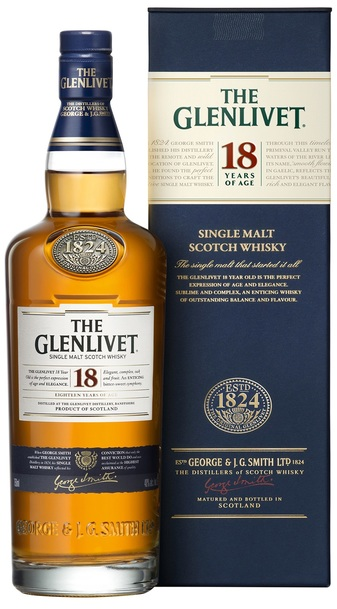 Glenlivet 18 Year w/Gift Box