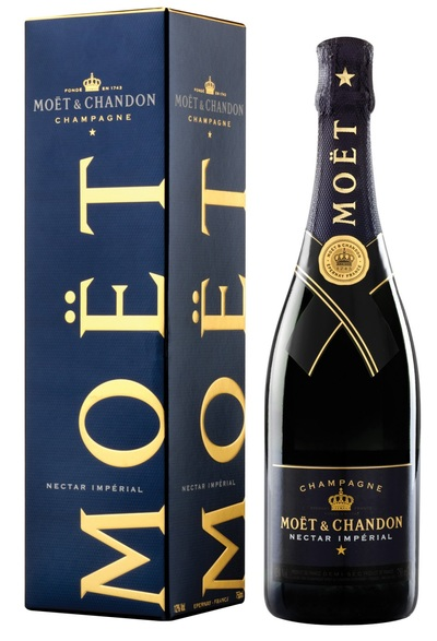Moet & Chandon Nectar Imperial w/Gift Box 750ml