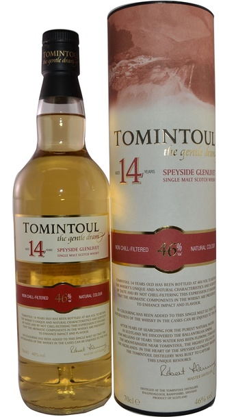 Tomintoul 14 Year w/Gift Box 700ml