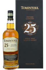 Tomintoul 25 Year w/Gift Box