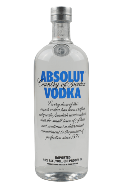 absolut vodka original 1000ml