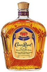 Crown Royal Canadian Whisky bottle