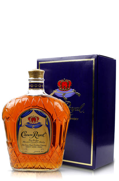 Crown royal canadian whisky with box