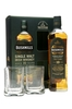 Bushmills Irish Whisky 10 with branded glasses