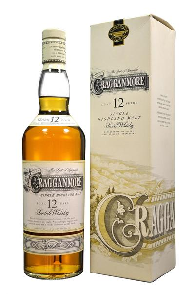 Cragganmore 12 Year bottle and Box