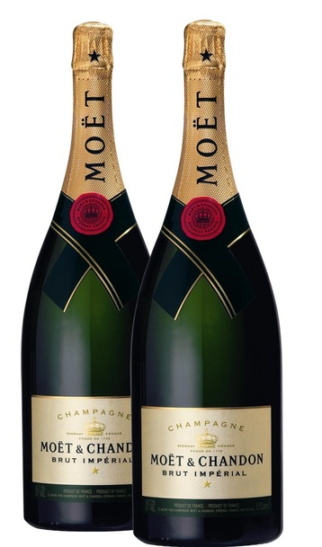 Moet chandon brut imperial twin pack
