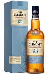 Glenlivet Founders Reserve bottle and box