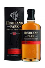 Highland Park 18 Year Bottle with box