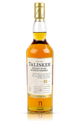 Talisker 18 Year bottle