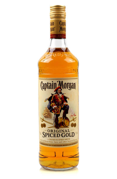 Captain Morgan Spiced Gold 1L bottle