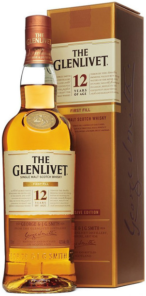 Glenlivet 12 Year First Fill 700ml w/Gift Box