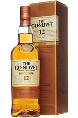 Glenlivet 12 Year First Fill bottle with box