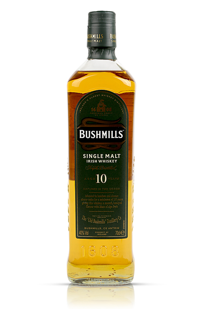 Bushmills Irish Whiskey 10 Year w/Gift Box