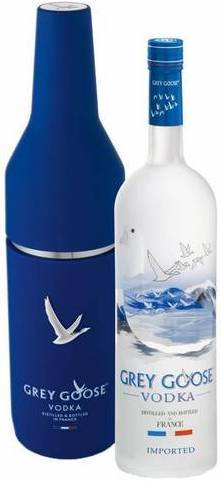 Grey Goose 1L bottle with Chiller Pack