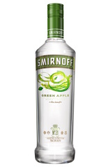 Smirnoff Green Apple Bottle