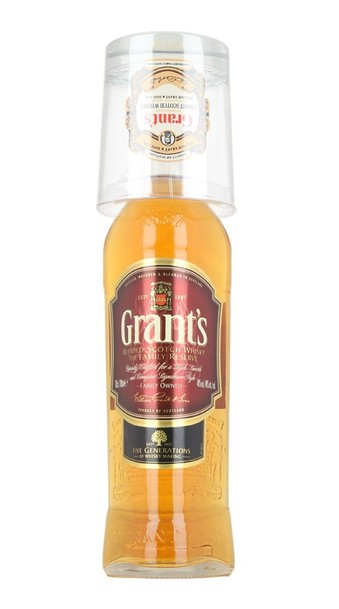 Grants Family Reserve 700ml bottle with Gift Glass