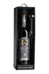 Beluga Gold Line 1L bottle with Leather Gift Box