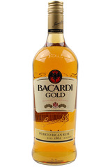 Bacardi Gold 1L bottle