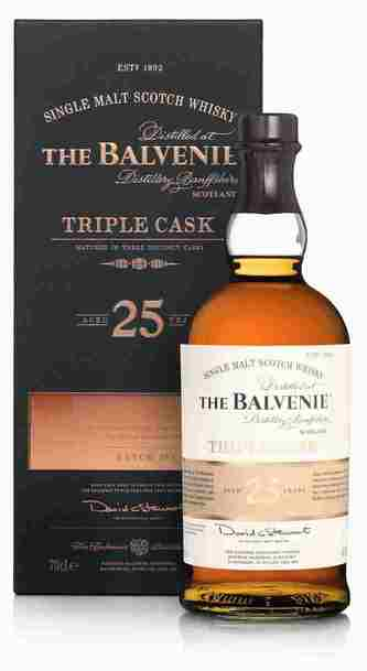 Balvenie 25 Year Triple Cask w/Gift Box