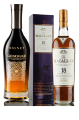 Macallan 18 and Glenmorangie Signet
