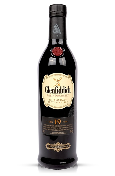Glenfiddich 19 Year Age of Discovery Red Wine Cask w/Gift Box
