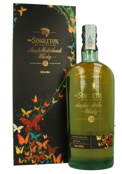 WSJ+ Singleton Of Glendullan 38 Year w/Gift Box