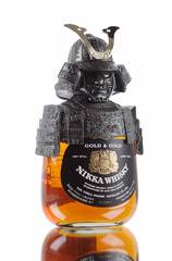 tikka gold and gold samurai bottle
