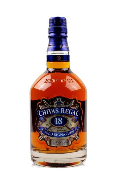 WSJ+ Chivas Regal 18 Year w/Gift Box