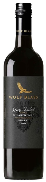 Wolf Blass Grey Label Shiraz bottle