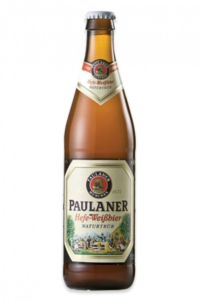 20 x Paulaner Hefe-Weissbier Beer Bottle Case 500ml