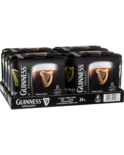 Guiness draught 24 pack