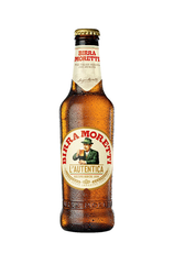 Birra Moretti Beer Bottle