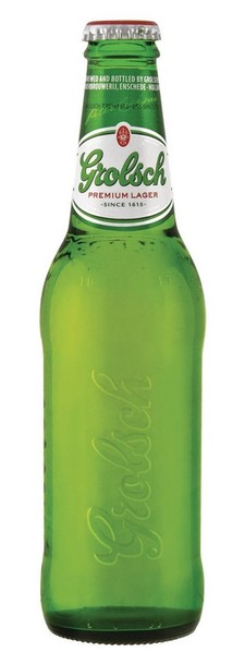 Grolsch lager 330ml bottle