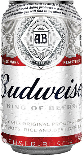 24 x Budweiser Beer Can Case