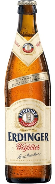 12 x Erdinger Weissbier Beer Bottle