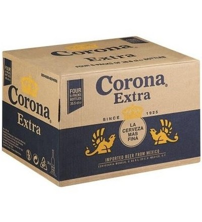 Corona beer bottle 330ml case