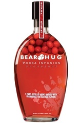 Bear Hug Vodka Infusion Cranberry Bottle