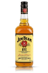 Jim Beam Rye Bottle