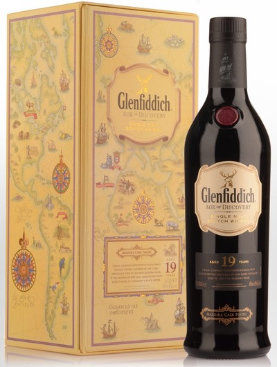 Glenfiddich 19 Year Age of Discovery Medeira Cask w/Gift Box
